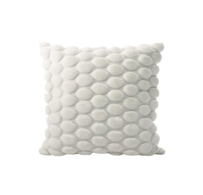 White Eggshell Cushion Cover
