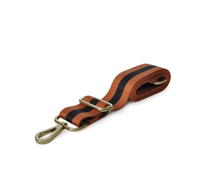 Shoulder Strap in Black/Tan Webbing (G)